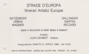AGLAIA INTERNATIONAL Florenz Galerie