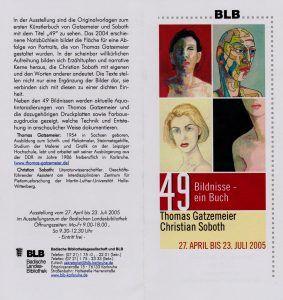 Buch 49 Landesbibiliothek 2005