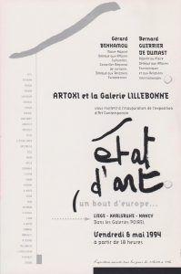 Gruppenausstellung in Nancy 1994