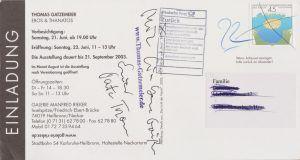 Heilbronn Galerie Rieker Eros + Thanatos 2003