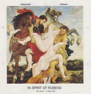 Kunstverein Siegen In Spirit of Rubens 1991