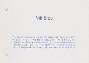 1996 Rieker Mit Blau