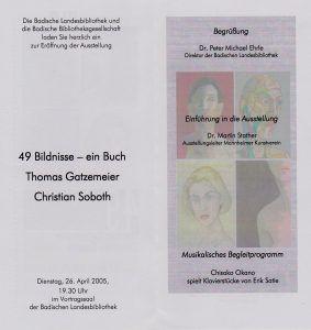BLB 49 Buch Ausstellung 2005