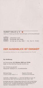 Christliche Motive in der... Kunsthalle Kobe Halle (Saale) einl