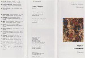 Galerie Döbele Dresden 2000