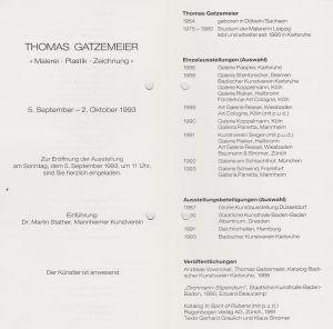 Galerie Panetta 1993