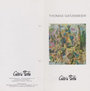 Galerie Panetta Mannheim 1995