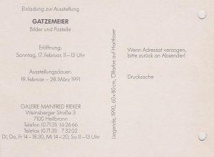 Galerie Rieker Heilbronn in 1991