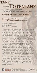 Medizinhistorisches Museum Berlin Tanz mit dem Totentanz 001