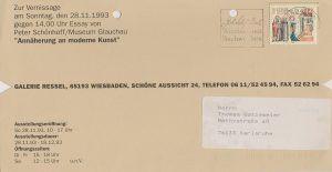 Ressel Gruppenausstellung 1993