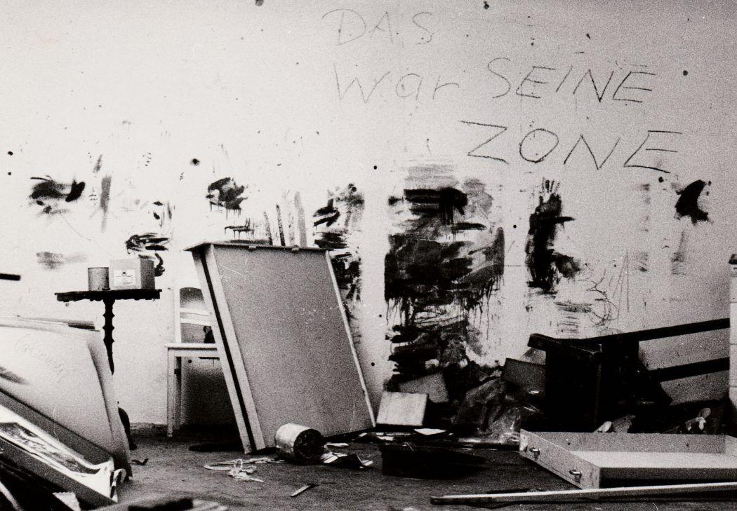 Thomas Gatzemeier das Atelier in Döbeln nach dem Auszug Richtung Westen 1986