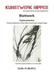 Koppelmann Kunstwerk Nippes Blattwerk