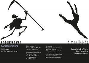 Himmelleicht - Erdenschwer Ausstellung 2016 2