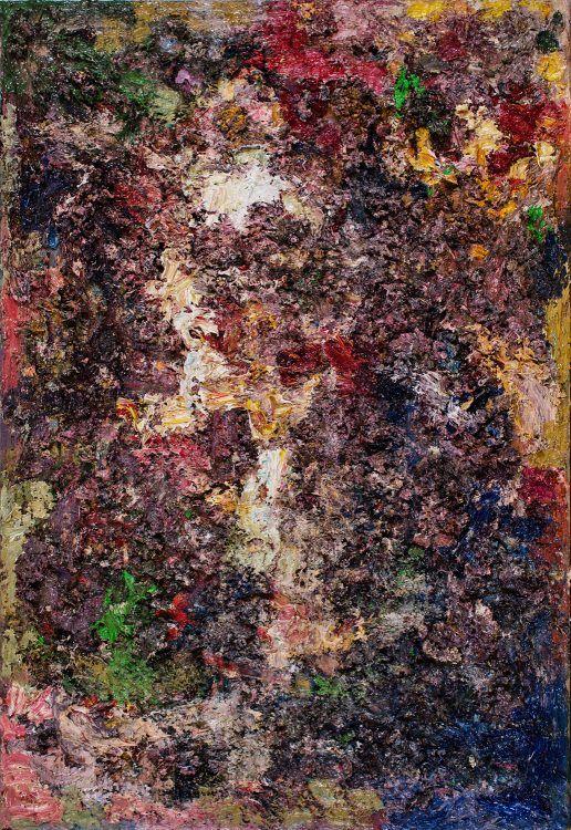 Portrait eines Philosophen 1999 Öl auf Leinwand 80 x 55 cm