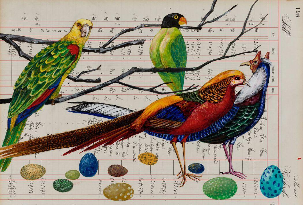 Thomas Gatzemeier | Bunte Vögel auf Eiersuche | 2018 |