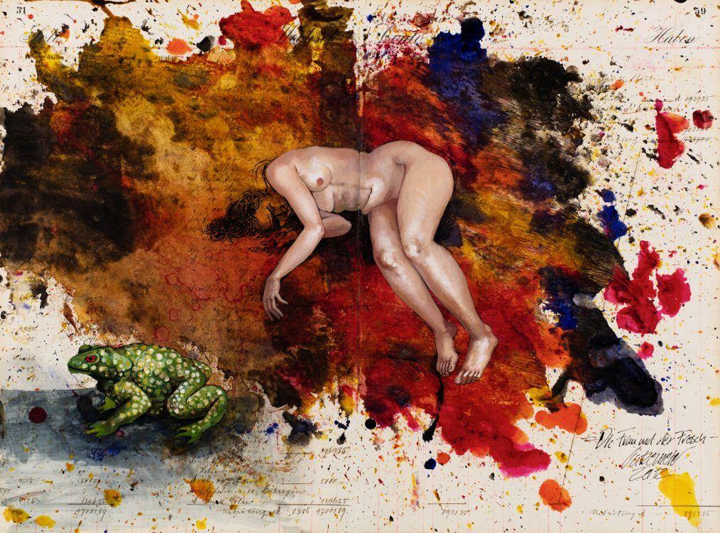Thomas Gatzemeier | Die Frau und der Frosch | 2012 |