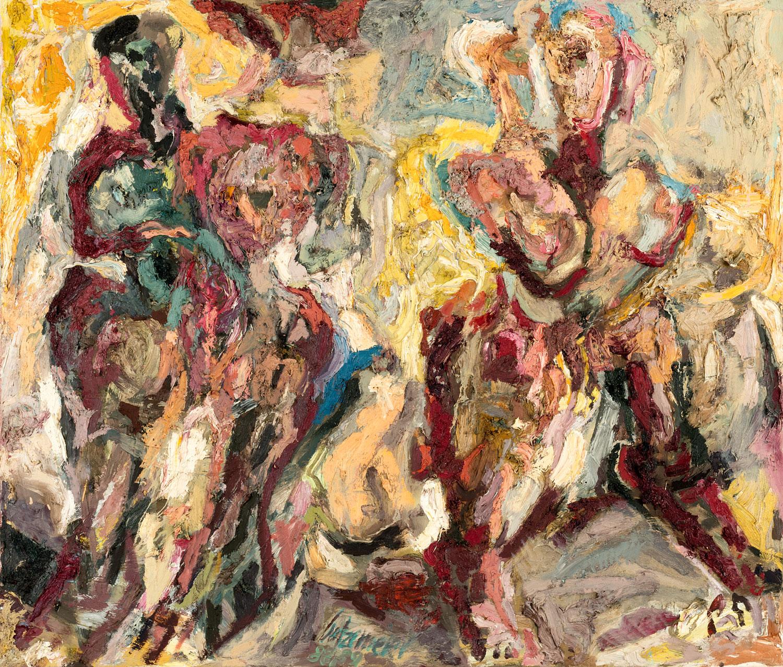 O.T. | 1988-89 | Öl auf Leinwand | 110 x 130 cm