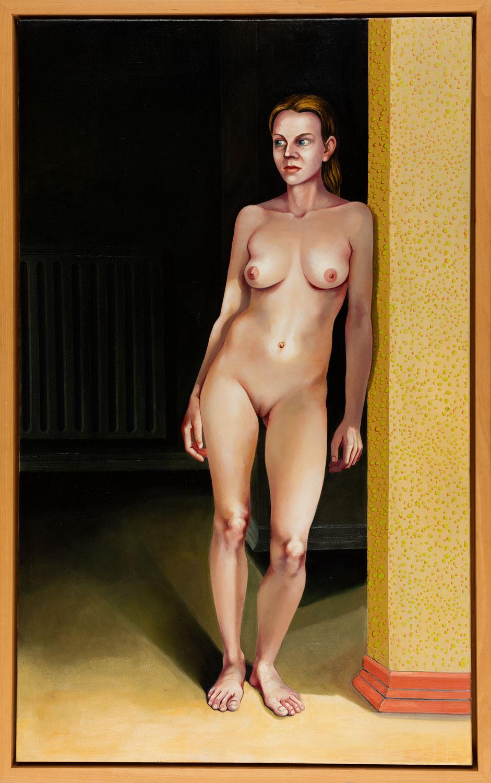 Stehende-(Sarah)-2005-06 Öl-auf-Leinwand-150-x-190-cm