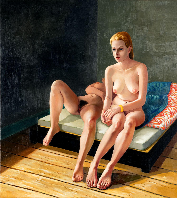 Thomas Gatzemeier Am Morgen 2006 Öl auf Leinwand 110 x 100 cm