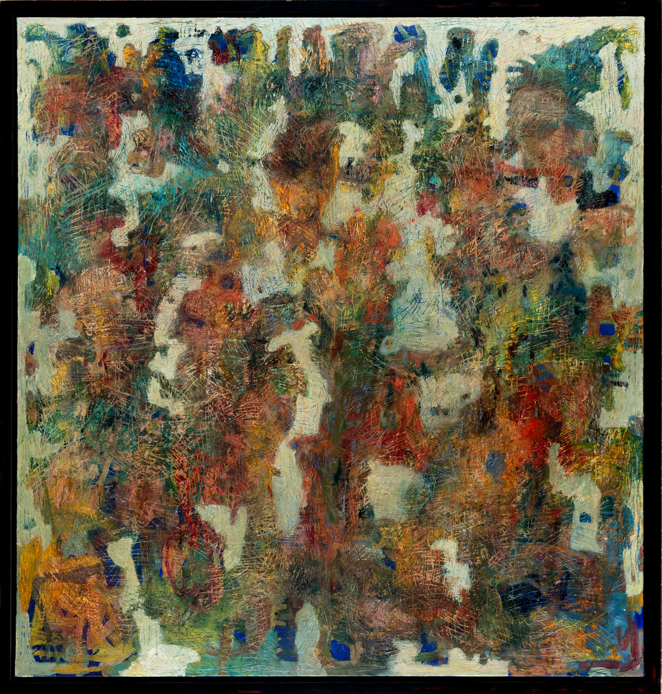 Thomas Gatzemeier Das Innere des Waldes 1997 Öl auf Leinwand 200 x 190 cm