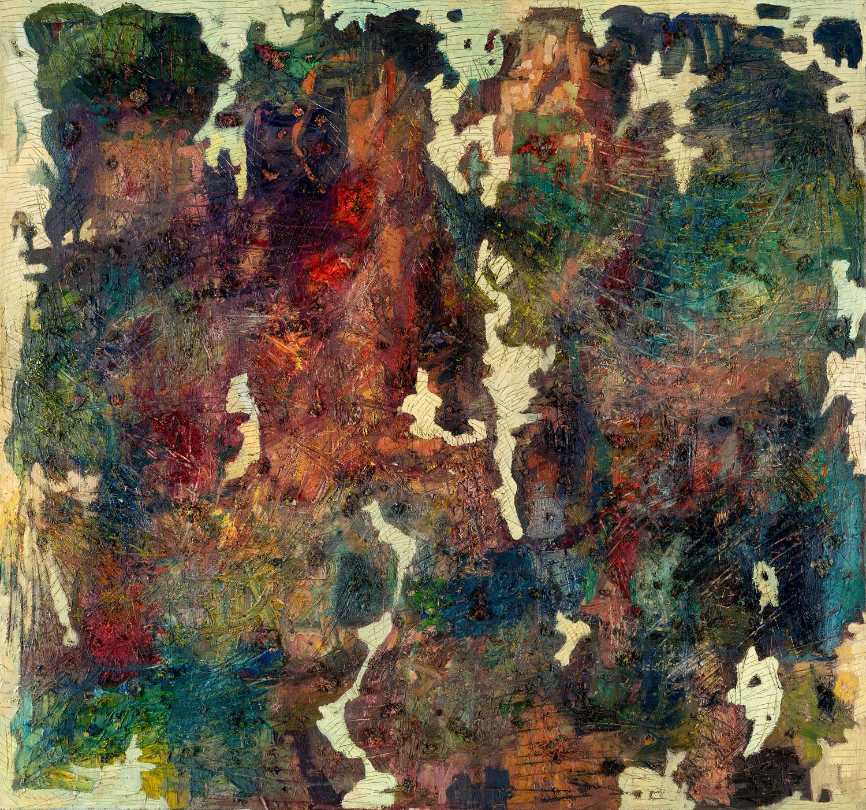 Thomas Gatzemeier Der Mystik eine Zukunft 1997 Öl auf Leinwand 140 x 150 cm