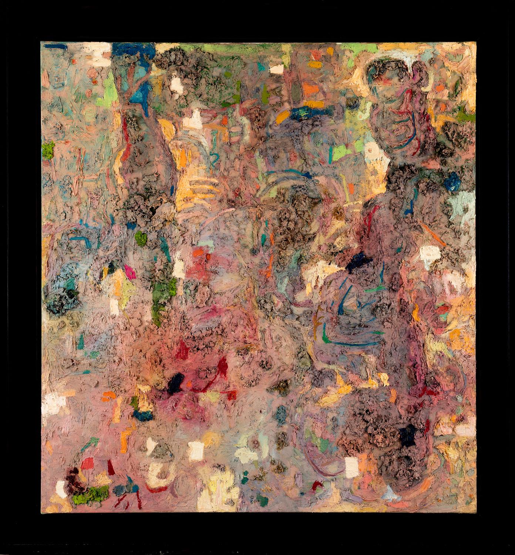 Thomas Gatzemeier Garten der Lüste 1990-1997 Öl auf Leinwand 150 x 140 cm