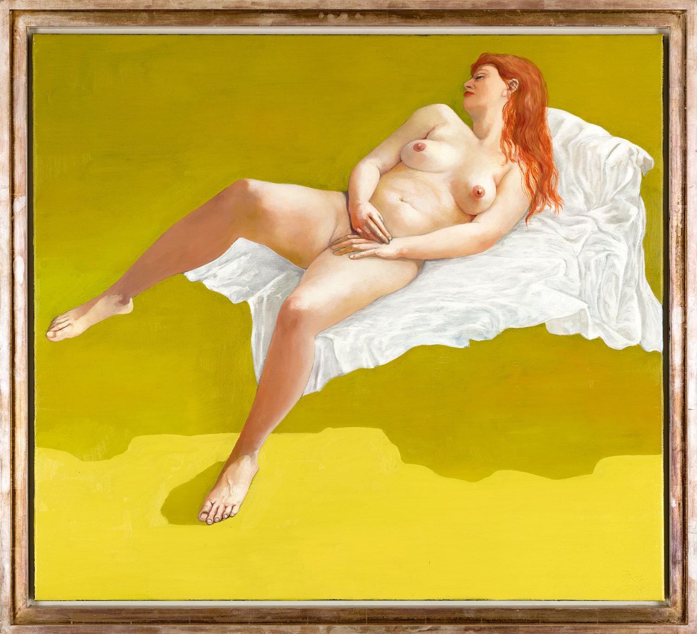 Thomas Gatzemeier Kristin 2004 Öl auf Leinwand 90 x 100 cm