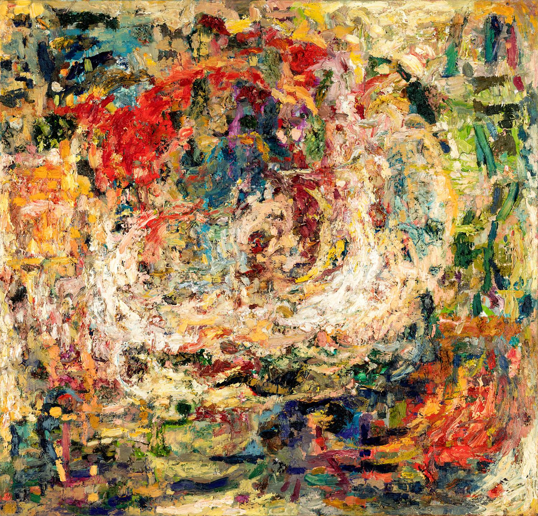 Thomas Gatzemeier Licht im Sturm 2000 Öl auf Leinwand 115 x 120 cm