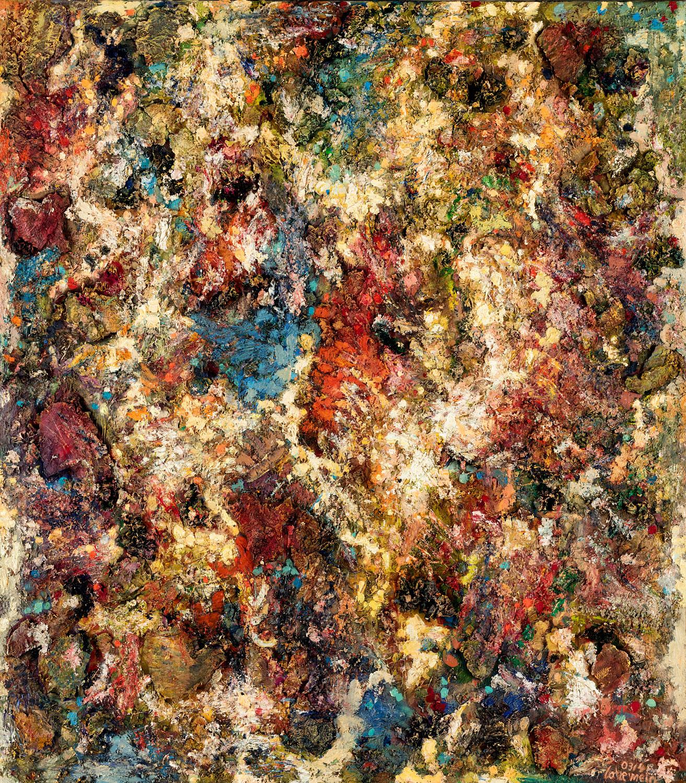 Licht und Raum 2003-04 Öl auf Leinwand 180 x 160 cm