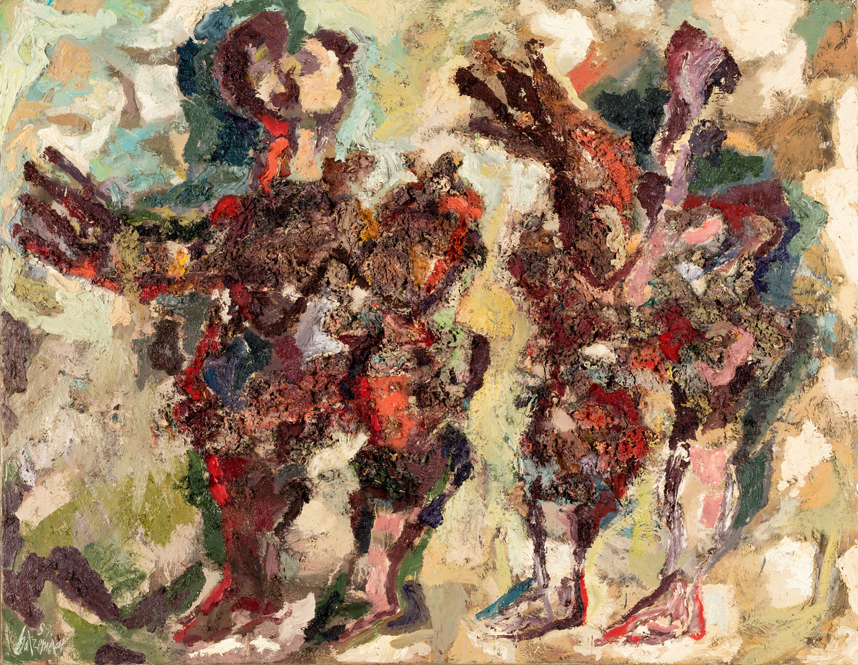 Thomas Gatzemeier O.T. 1989 Öl auf Leinwand 100 x 130 cm