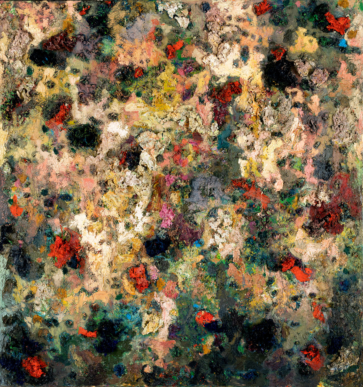Thomas Gatzemeier Ohne Titel 1993 Öl auf Leinwand 170 x 160 cm