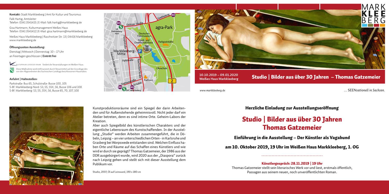 Einladung Ausstellung Thomas Gatzemeier