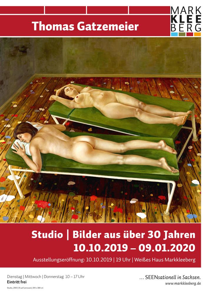 Plakat Ausstellung Thomas Gatzemeier