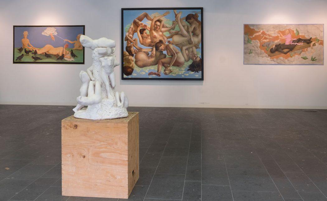 Saskia Schultz-Thomas gatzemeier Ausstellung Leibhaft Stuttgart